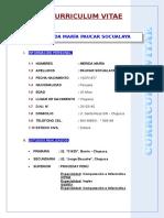 Cv. Merida Maria Paucar Socualaya