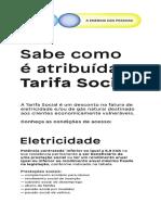 Como é Atribuida a Tarifa Social