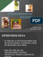 Intoxicaciones en pediatría definitiva