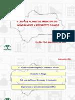 A Planificación Emergencias y DB