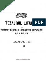 Tezaurul Liturgic-Tomul 3