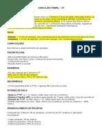 Convulsão Febril - Resumo
