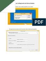 Manual Configuracion Outlook