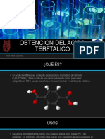 Obtencion Del Acido Tereftalico