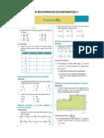 Taller de Recuperacion de Matematicas