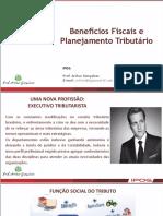 Aula - Benefícios Fiscais e Planejamento Tributário