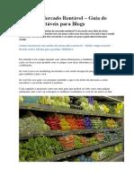 Nicho de Mercado Rentável – Guia de Nichos Rentáveis Para Blogs
