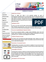 Pensionersportal Gov in Guidelines ASP