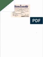 Certificado Electroral Carlos Quejada