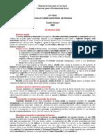 Cursul - Istoria Și Tradițiile Minorităților Din România. (Rezumat), De Toader Nicoară, 2005. Eu 2019