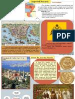 Plansa-Poster Cu Imperiul Bizantin. Popovici Razvan, Reconversie 2018