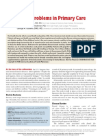 Dental Problems in Primary Care