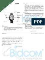 Manual de Reloj REL00035