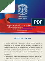 Seguridad e Informatica Universidad Del Cauca