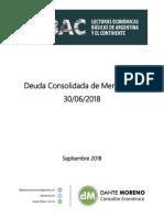 DM.deuda Consolidada de Mendoza