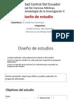 Diseño de Estudios