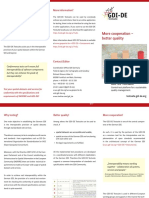 Infoflyer GDI-De Testsuite