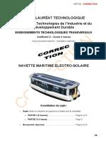 BACCALAURÉAT TECHNOLOGIQUE Sciences et Technologies de l Industrie et du Développement Durable NAVETTE MARITIME ELECTRO-SOLAIRE.pdf