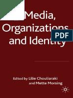 Chouliaraki, L and Morsing, M - Media, Organizations and Identity