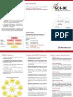 Infoflyer Architektur GDI-De En