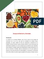 Ensayo de Nutrición y Sociedad