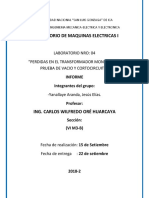 Laboratorio de Maquinas Electricas - 04