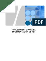 Procedimiento Para La Implementación y Configuracion de RET_v3