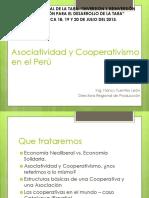 Asociatividad y Cooperativismo en El Perú