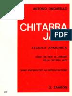 Chitarra jazz-Tecnica armonica[ongarello]