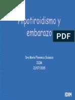 1 Ateneo de Hipotiroidismo y Embarazo IDIM 2015 Final Modo de Compatibilidad