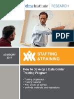 How to Develop a Data Center Training Program