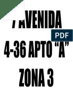 7 AVENIDA