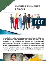 Personas Fisicas en Mexico y Su Establecimiento