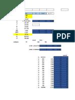 Curva Excel
