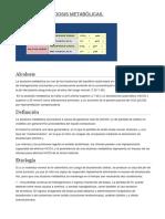 Alcalosis y Acidosis Metabólicas.-1
