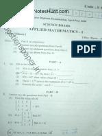 Appl Maths 1 May 2008 New