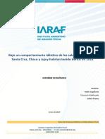 IARAF - El Verdadero Resultado Fiscal de Las Provincias en 2018