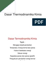 Dasar Termodinamika Kimia (Rev)