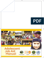 Adolescent Job Aid Manual Fa