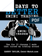 10 Days to Better Emini Trading Emini Watch