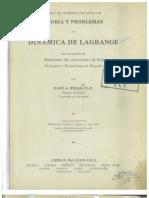 Wells, Dare a - Teoria y Problemas de Dinamica de Lagrange
