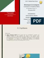 3. Hipótesis
