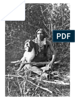 A Young Ute Indian Warrior and His Dog