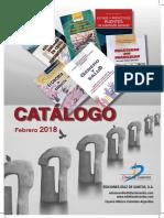 Catalogogral de Libros