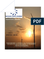 Brochure Windtech 100 Kw