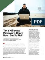 Millennial Millionaire Here's How I Got So Rich