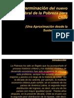 Determinacion Del Nuevo Umbral de La Pobreza Para