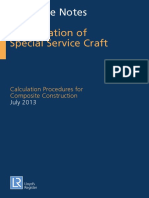 Guidance Notes for the Classification of Special Service Craft Calculation Procedur
