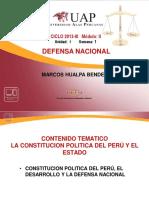 UNIDAD I SEMANA 1 LA CONSTITUCION POLITICA DEL PERÚ Y EL ESTADO.pdf