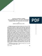NOTICIAS SOBRE EL CRISTO DE LA MISERICORDIA, LOS SILOS (TENERIFE), POSIBLE OBRA DE FRANCISCO DE OCAMPO